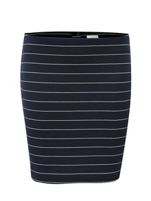 Tmavomodrá pruhovaná sukňa VILA Tinny