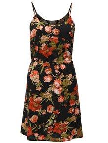 Čierne kvetované šaty Haily´s Tabea