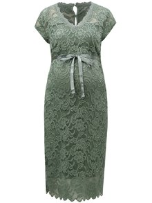 Rochie verde din dantela pentru femei insarcinate Mama.licious New mivana