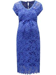 Rochie albastra din dantela pentru femei insarcinate Mama.licious New mivana