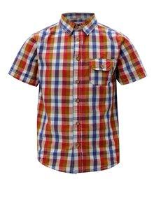 Modro-červená klučičí kostkovaná košile 5.10.15.