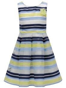 Bílo-modré pruhované šaty 5.10.15.