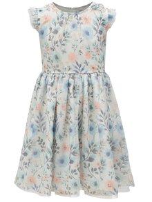Modro-bílé květované šaty 5.10.15.