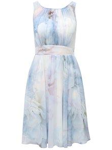 Modré šaty s plisovaným topem Dorothy Perkins