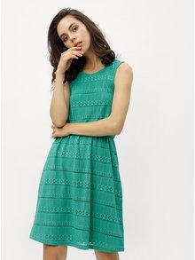 Rochie verde din dantela cu decupaj la spate ONLY