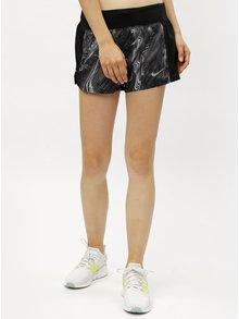 Černé dámské vzorované funkční kraťasy Nike Eclipse