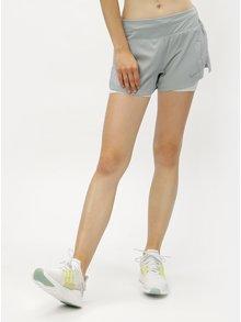 Mentolové dámske funkčné kraťasy Nike Eclipse