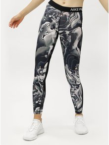 Leggings de dama negri cu model Nike