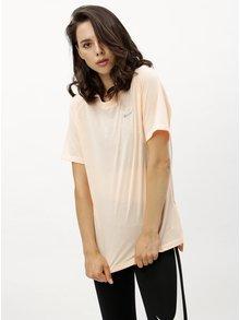 Tricou functional de dama de culoarea caisei Nike Tailwind