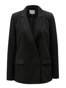 Čierne sako s dlhým rukávom VILA Conella