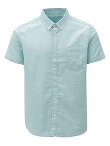 Mentolová košile s krátkým rukávem Burton Menswear London