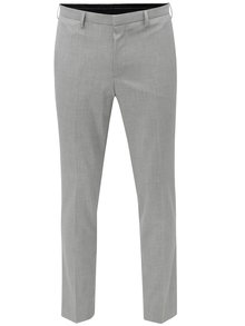 Pantaloni gri deschis formal slim Burton Menswear London