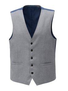 Svetlosivá formálna vesta Burton Menswear London