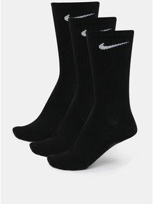 Sada tří párů vysokých ponožek v černé barvě Nike Lightweight