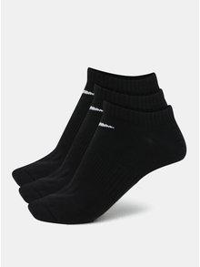 Sada tří párů ponožek v černé barvě