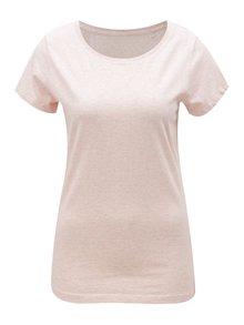 Světle růžové dámské žíhané tričko Stanley & Stella Wants