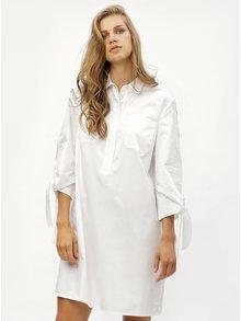 Biele košeľové šaty Tommy Hilfiger