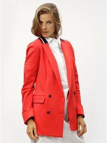 Červené dámske sako Tommy Hilfiger