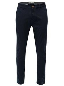Pantaloni albastru inchis slim fit chino Burton Menswear London