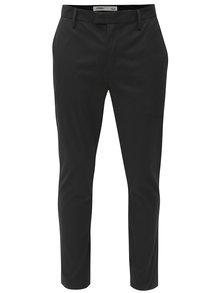 Čierne slim fit chino nohavice Burton Menswear London