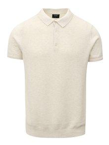 Krémový sveter s krátkym rukávom Burton Menswear London
