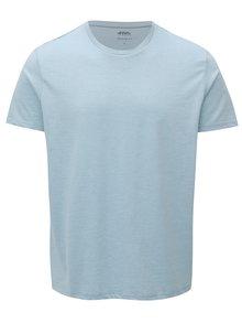 Světle modré regular fit tričko Burton Menswear London