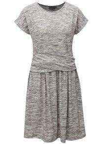 Sivé melírované šaty Broadway Cindy