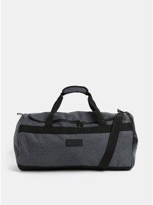 Tmavosivá cestovná taška Original Penguin Blizzard Rollbag