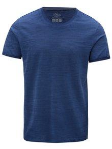 Modré pánske melírované slim fit tričko s.Oliver