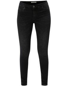 Tmavě šedé skinny džíny Jacqueline de Yong Ella