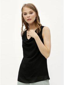 Bluza neagra oversize cu barete la spate Haily´s Ceyda
