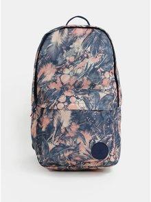 Růžovo-modrý dámský vzorovaný batoh Converse EDC Backpack