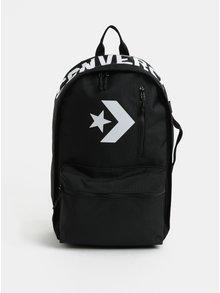 Čierny vodovzdorný batoh s potlačou Converse Street 22 Backpack