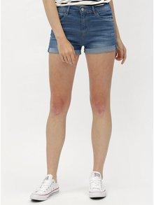 Pantaloni albastri scurti din denim Haily´s Malin