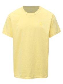 Žlté tričko s výšivkou Mr.Sailor
