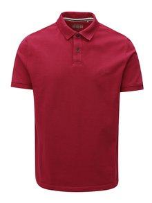 Růžové pánské regular fit polo tričko s.Oliver