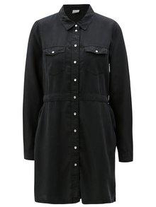 Čierne košeľové šaty Noisy May Cassy
