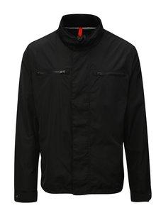 Čierna pánska funkčná bunda Geox