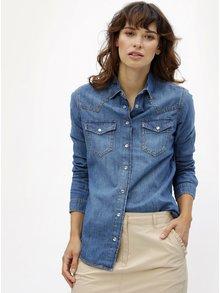 Modrá rifľová košeľa Dorothy Perkins