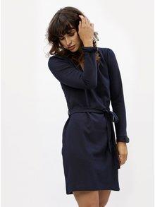 Tmavě modré šaty s dlouhým rukávem Dorothy Perkins