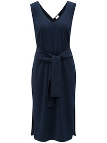 Modré šaty s opaskom VILA Vimelis