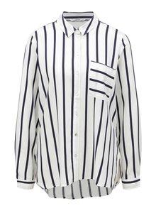 Modro-biela pruhovaná košeľa ONLY Sugar