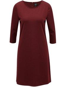 Vínové šaty ONLY Brilliant