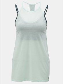 Modré dámske funkčné tielko s všitou podprsenkou Nike Tank SPRT