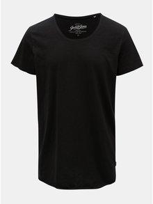 Tricou negru Jack & Jones Bas