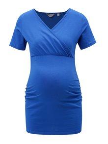 Tricou albastru pentru femei insarcinate Dorothy Perkins Maternity