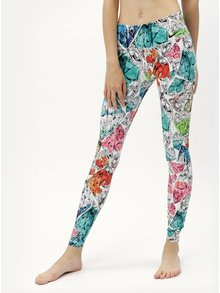 Leggings de dama functionali albastru-alb Nike Power Tight