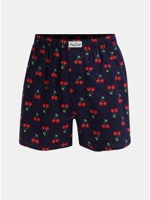 Boxeri albastri Happy Socks Cherry