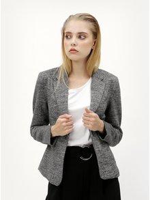 Sivé melírované sako s vreckami ONLY Olivia