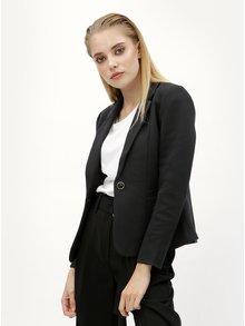 Čierne sako s vreckami ONLY Olivia